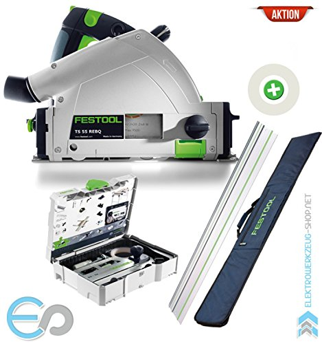 Festool AKTION: Tauchsäge TS 55 REBQ-Plus-FS | 561580A